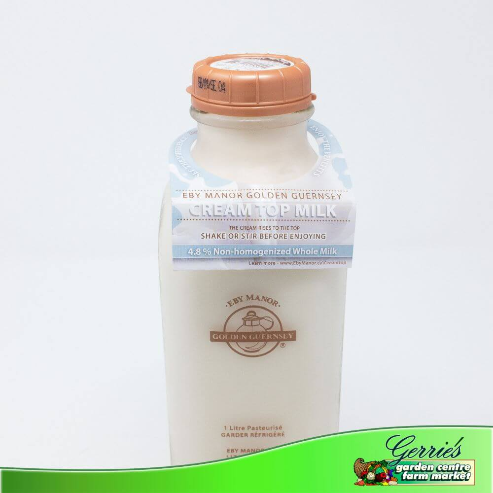Eby Manor 4.8% Non-Homogenized Whole Milk