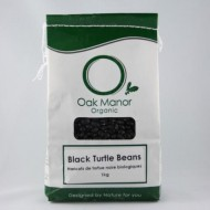 Organic Black (Turtle) Beans 1KG