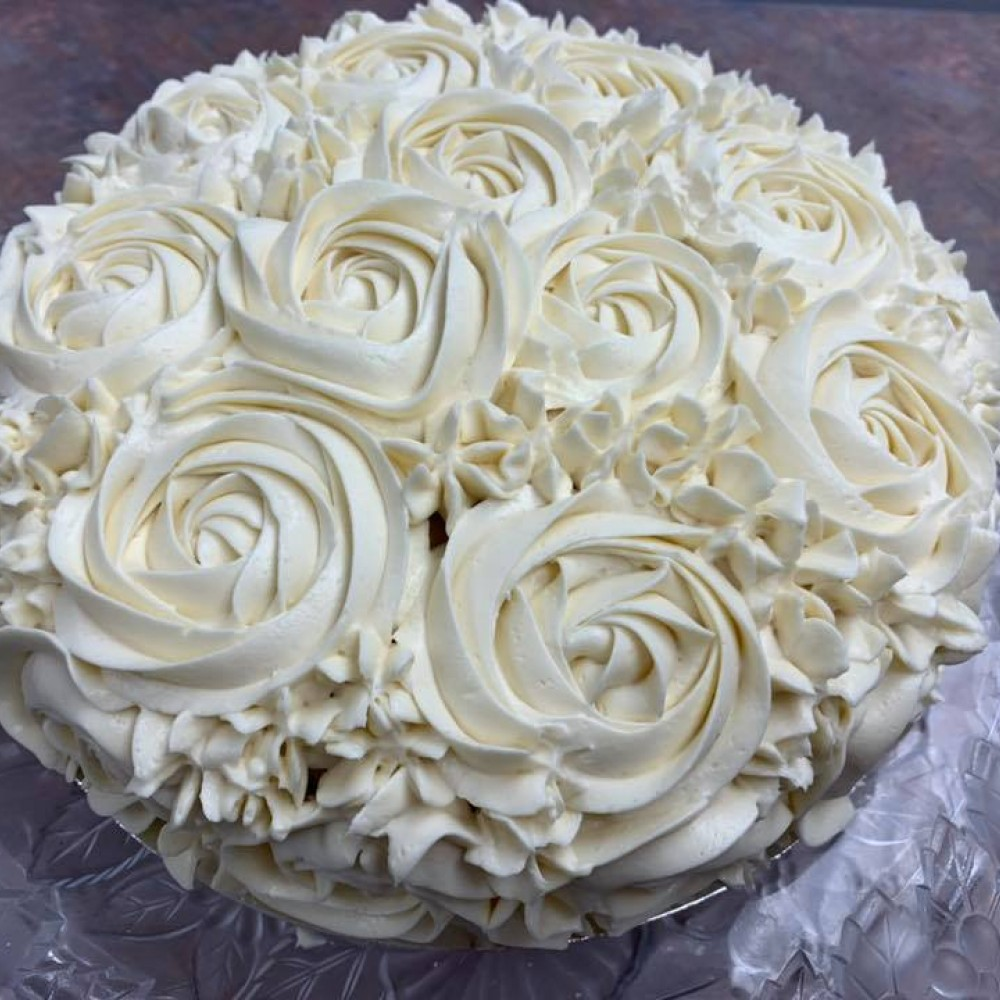 Custom Birthday Cake by Bakin' Us Keto