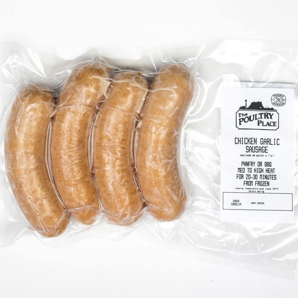 Chicken Sausage - Garlic