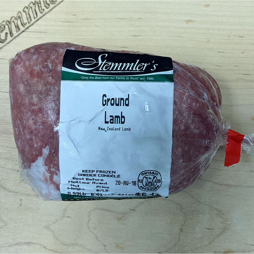 Ground Lamb (Price per Pound)