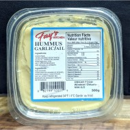 Fay's Kitchen Hummus Garlic (300g)
