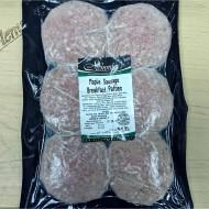 Maple Sausage Breakfast Patties (6 per package)