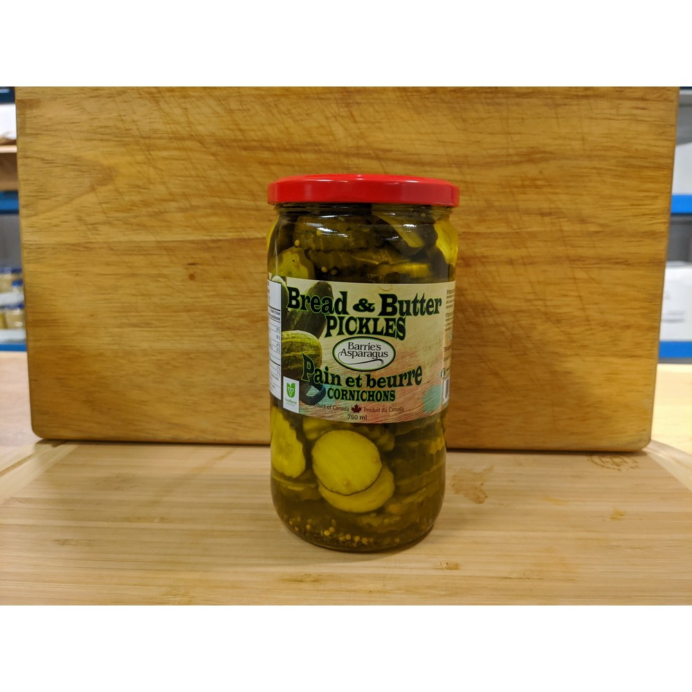 Bread & Butter Pickles (750ml)
