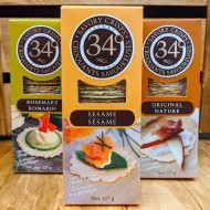 34 Degrees - Savoury Crisps (127g)