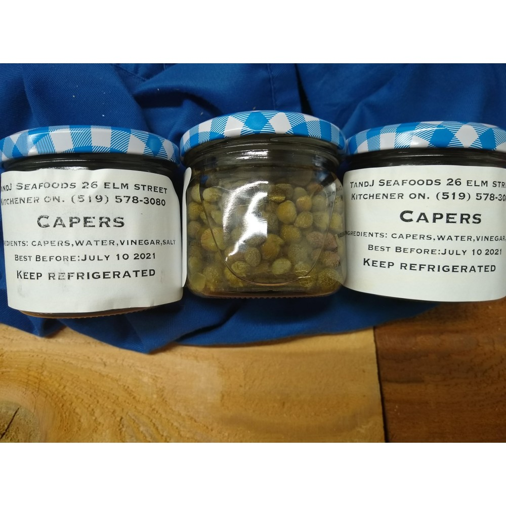 capers in brine