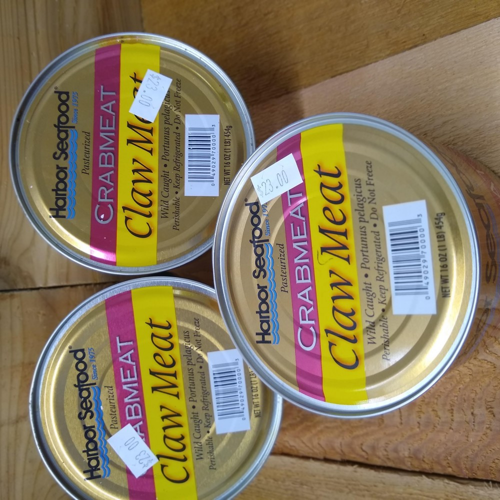 fresh pasteurized crab meat
