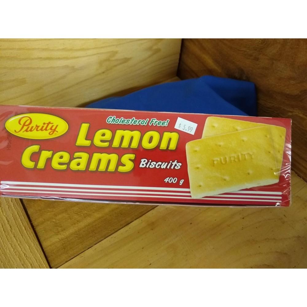 purity lemon creams