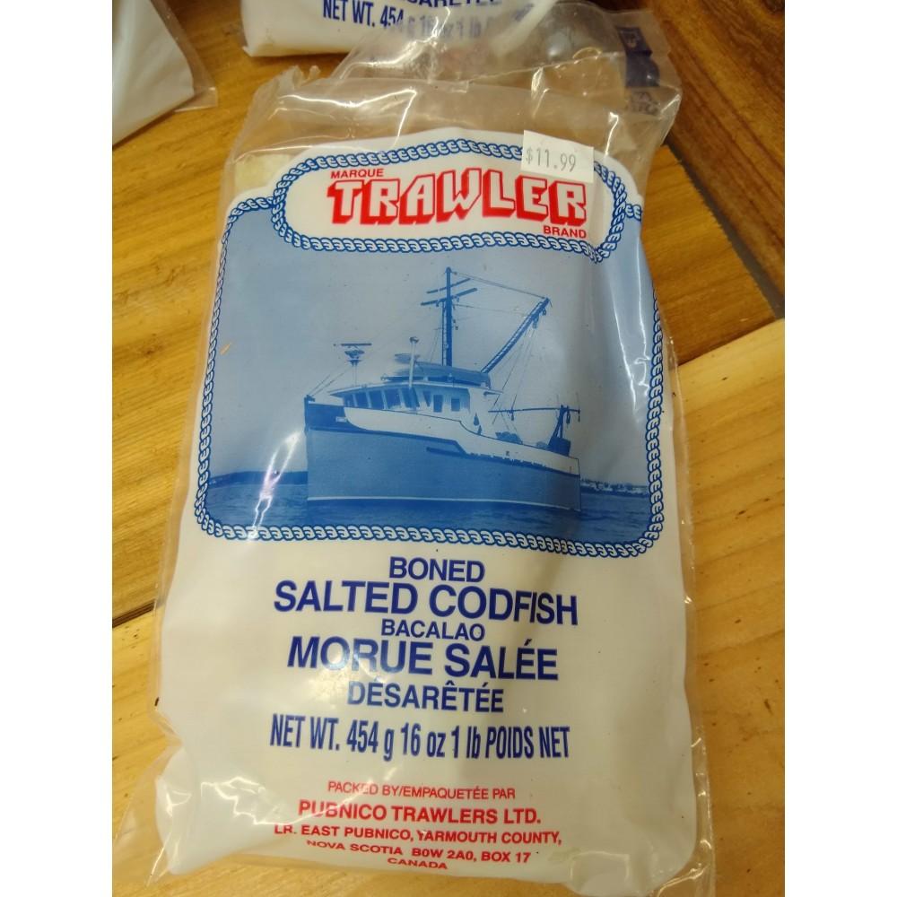 boneless salted cod
