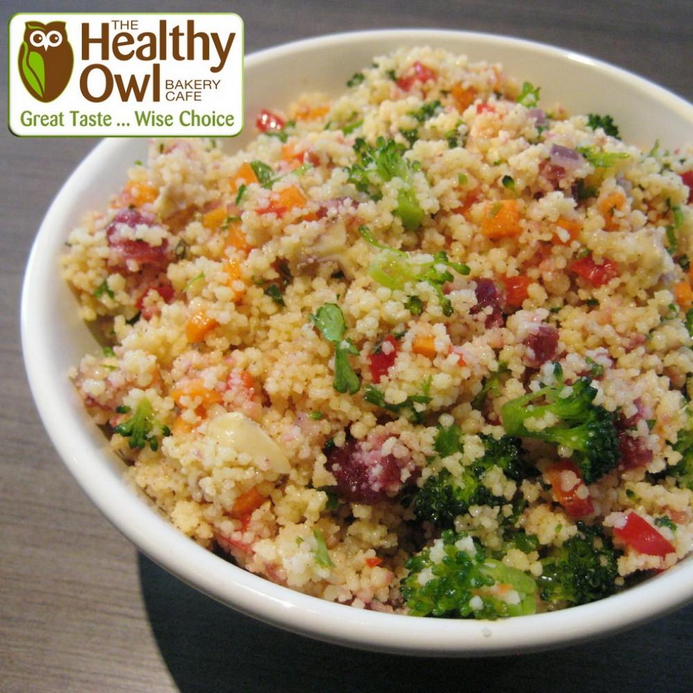 HealthyOwl Moroccan Couscous Salad - Family Size (1 litre)