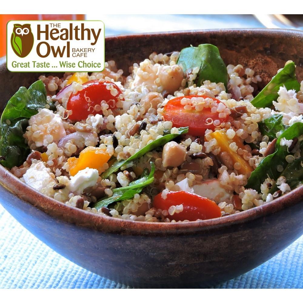 Healthy Owl Classic Quinoa Salad - Family Size (1 litre, 620gm)