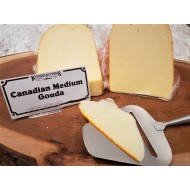 Fresh Cut Canadian Medium Gouda (lactose free) (per 1/2 lb.)