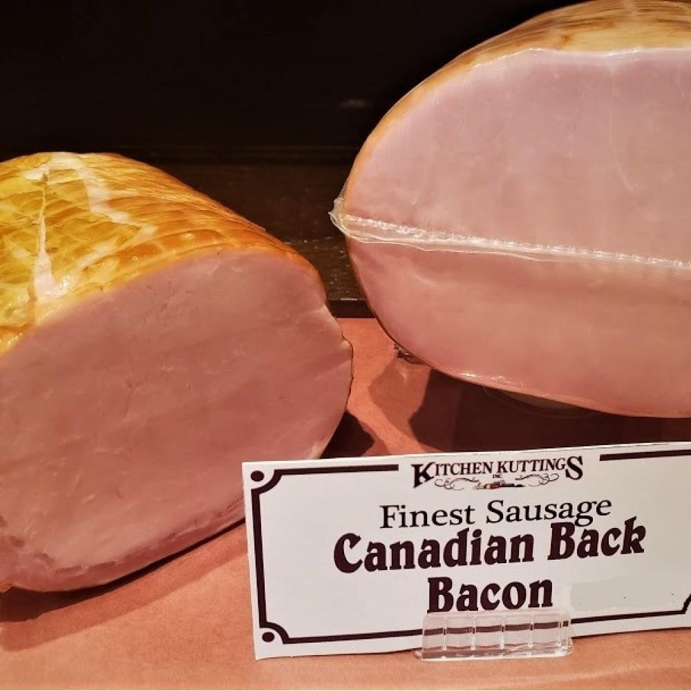 Canadian Back Bacon (per 1/2 lb.)