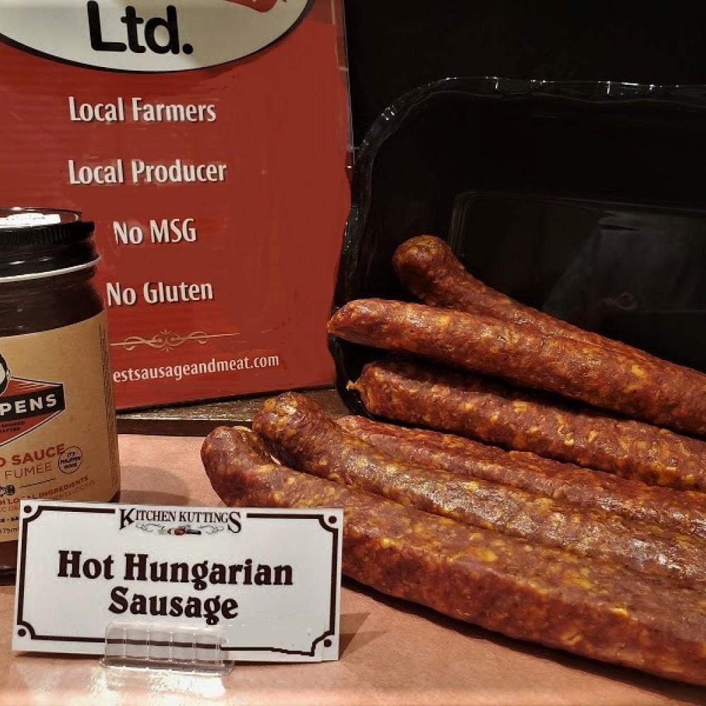 Hot Hungarian Sausage (per lb.)