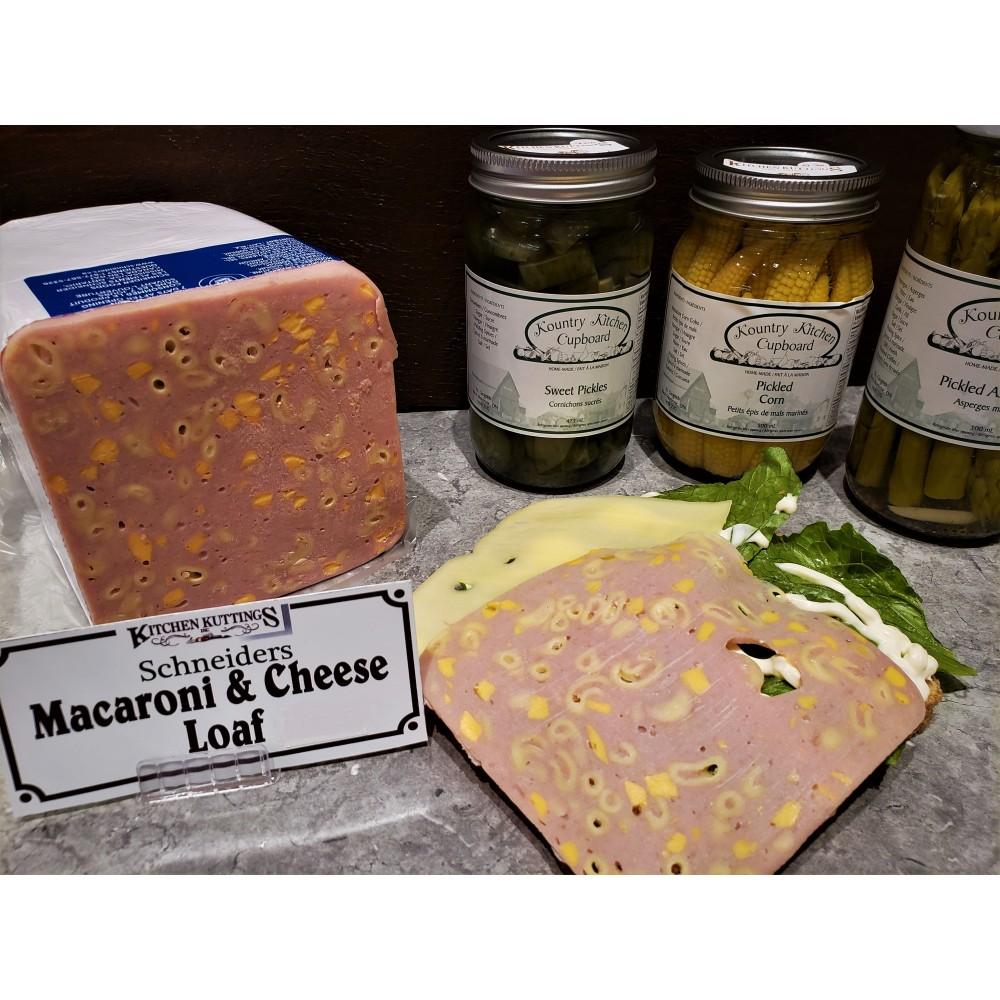 Deli Sliced Macaroni and Cheese (per 1/2 lb.)
