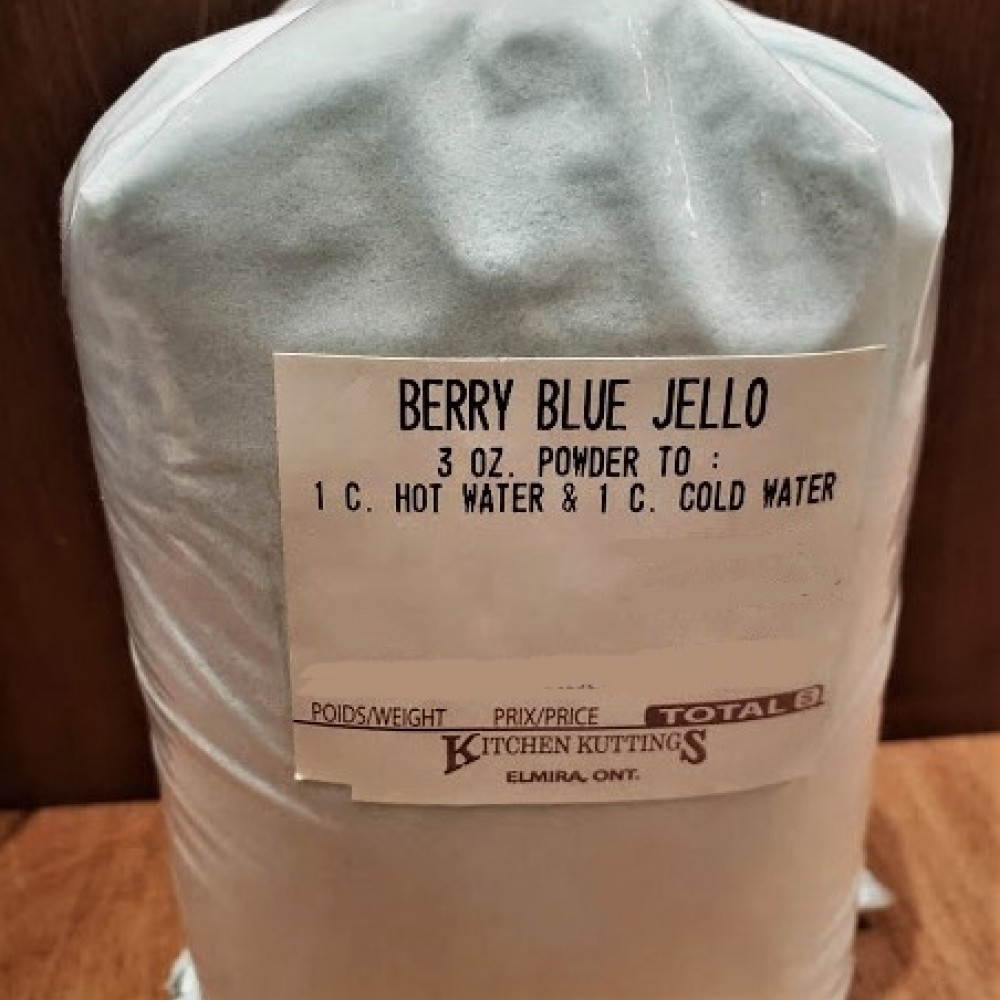 Berry Blue Jello