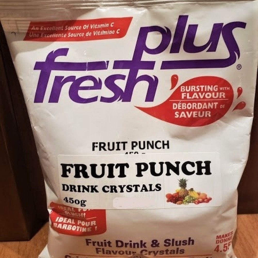 Fruit Punch Drink Crystals