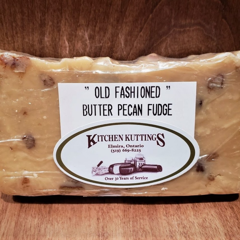 """Old Fashioned"" Butter Pecan Fudge"