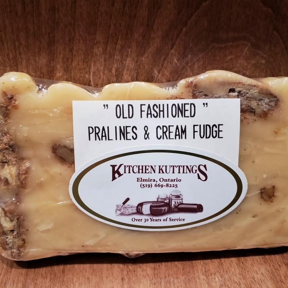 """Old Fashioned"" Pralines N' Cream Fudge"