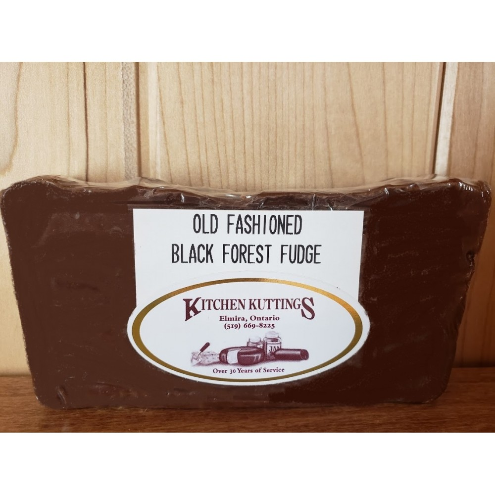 """Old Fashioned"" Black Forest Fudge"