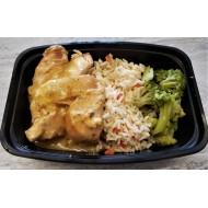 Homemade Italian Chicken & Rice