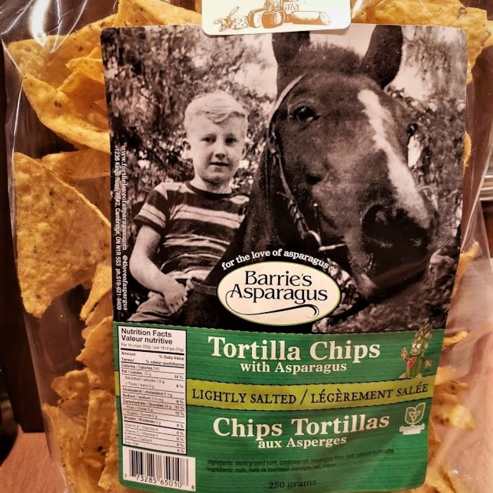 Regular Tortilla Chips  (Lightly Salted)