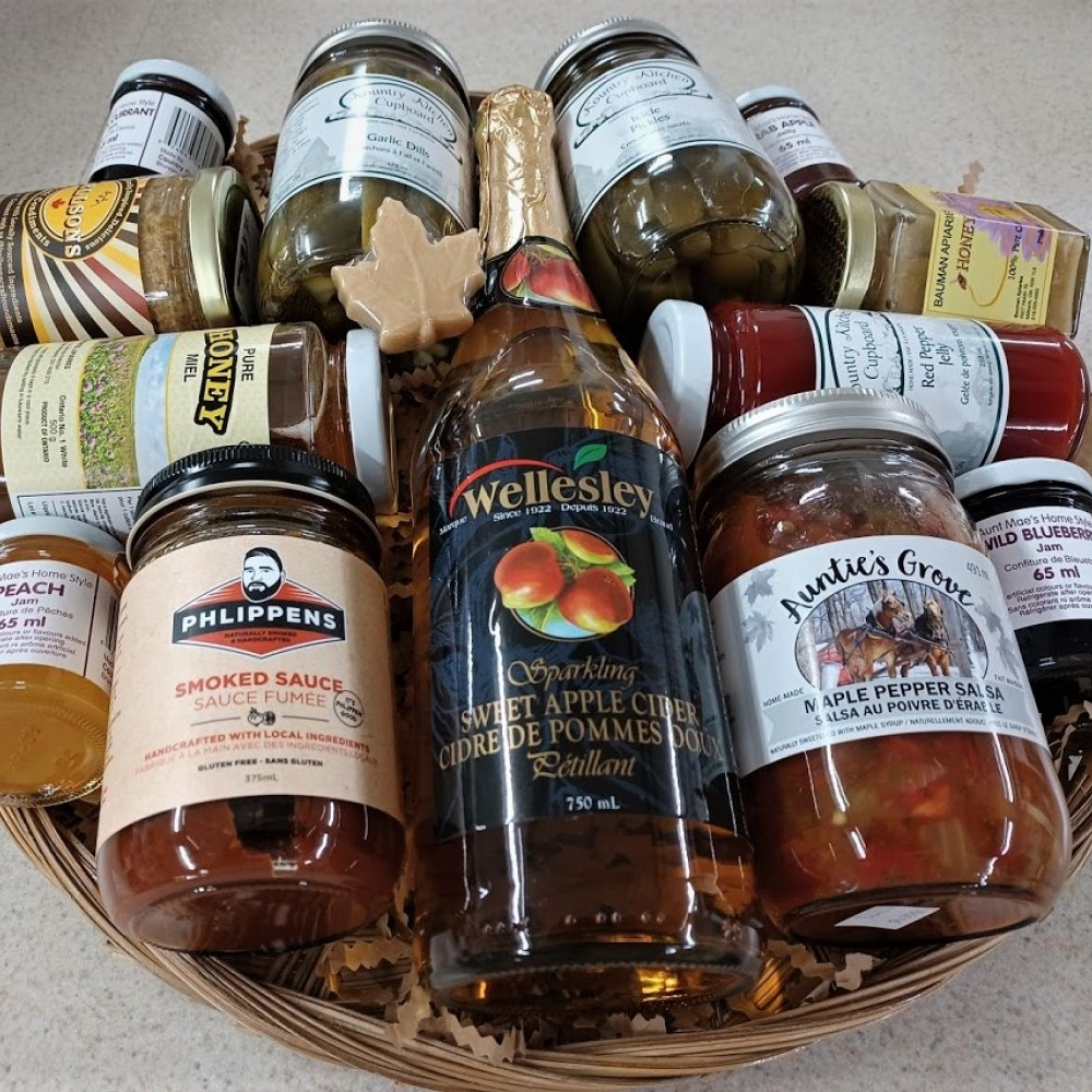 """Basket #4 """"Delicacy Delights"""""""