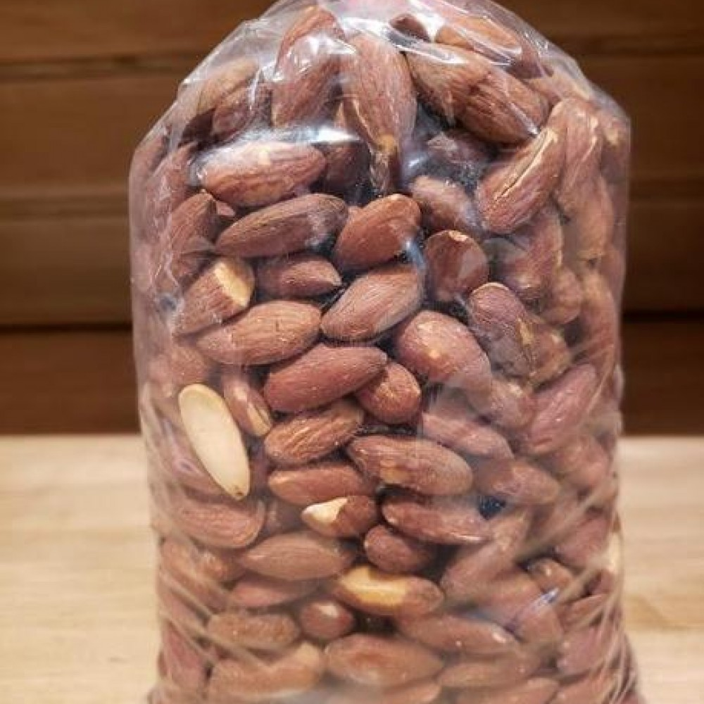 Unsalted and Roasted Almonds