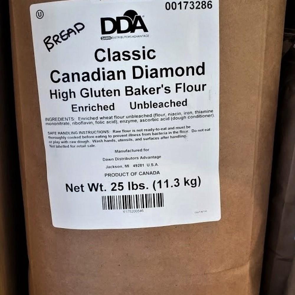 Unbleached Bread Flour 11.3 kg.