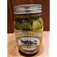 Local Homemade Icicle Pickles - Golden Harvest