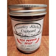 Local Homemade Hot Red Pepper Jelly