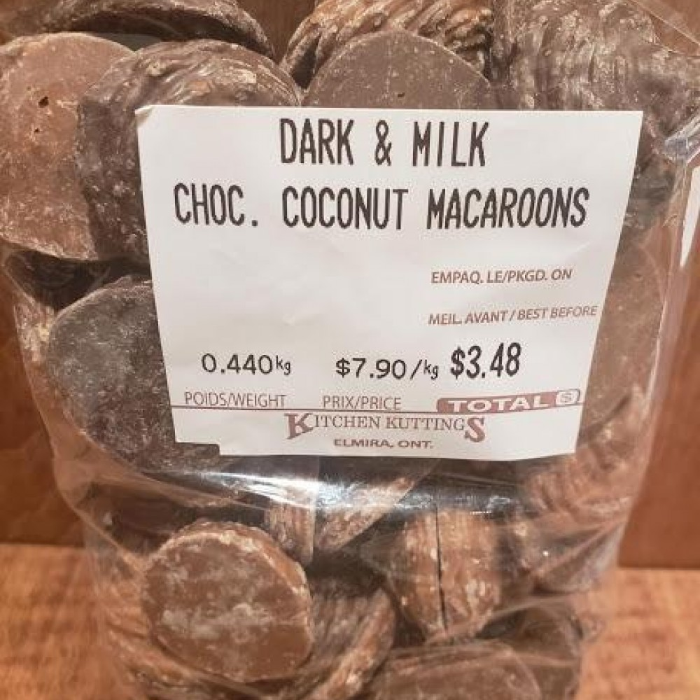 Dark & Milk Chocolate Coconut Macaroons