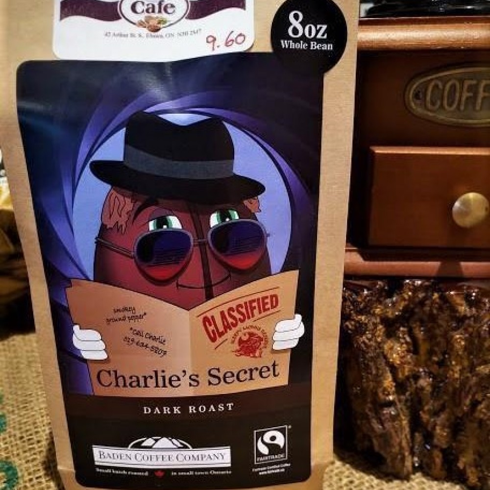 Locally Roasted Charlie's Secret Baden Coffee Beans