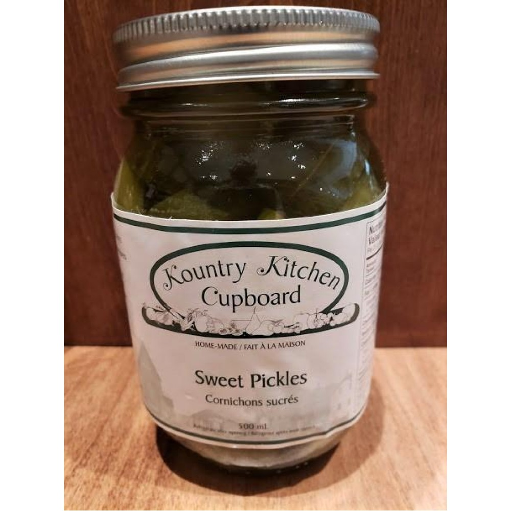 Local Homemade Sweet Pickles