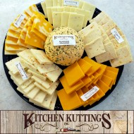 Fresh-cut Cheese Platter by Kitchen Kuttings