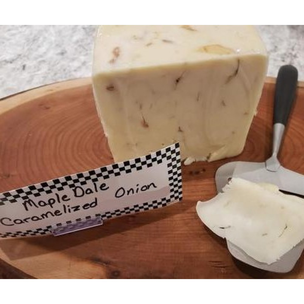 Fresh Cut Caramelized Onion Cheese (per 1/2 lb.)