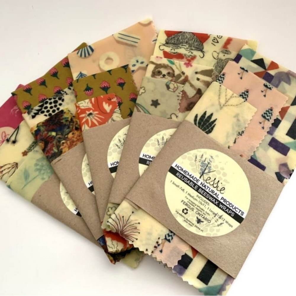 Beeswax Food Wraps - 3 pk