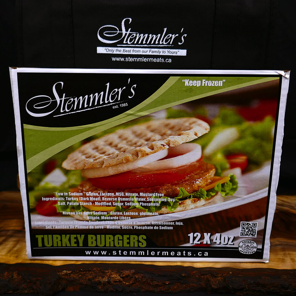 Burgers - Turkey (12 x 4 oz)