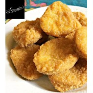 Chicken Fritters - Crispy