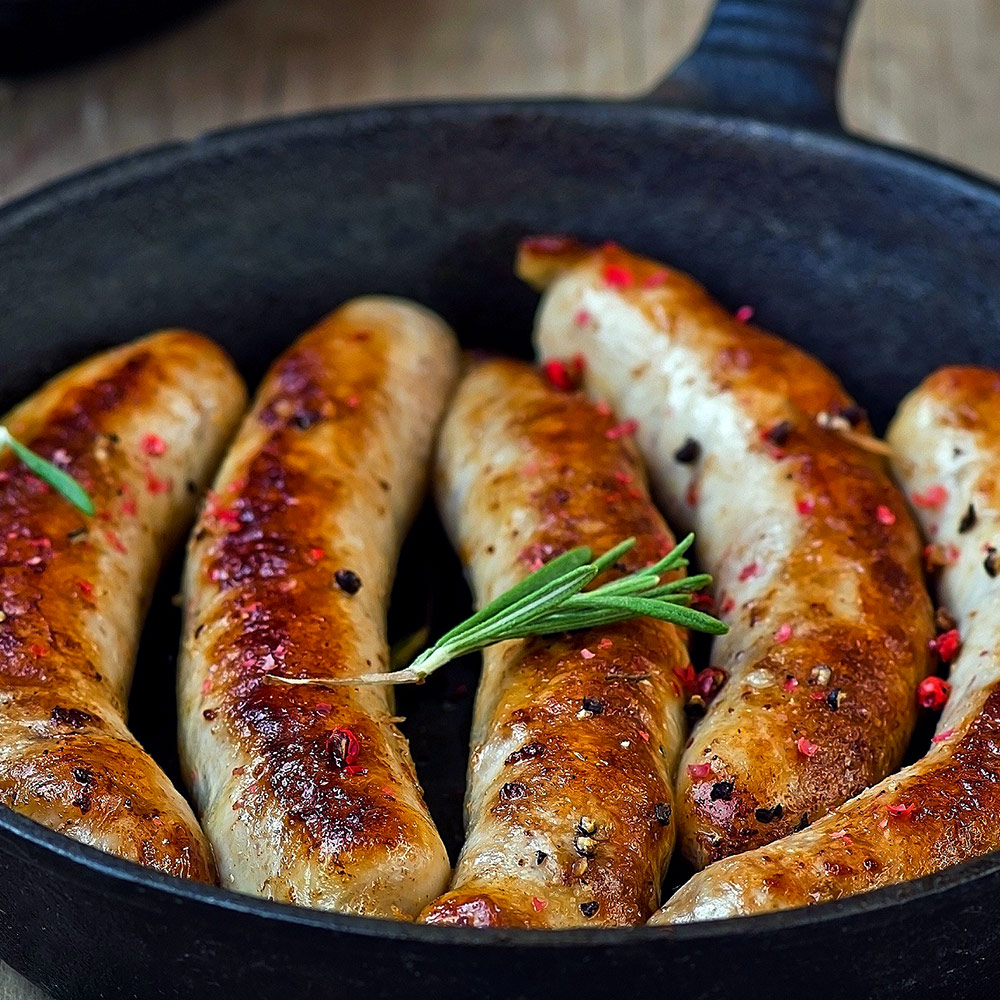 Water Buffalo Sausages (4 sausages per pack)
