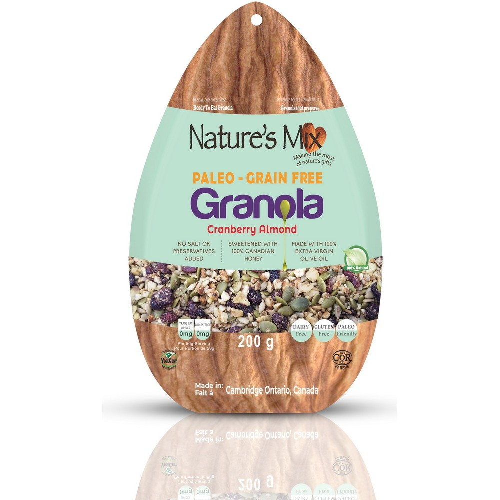 Paleo Granola - Cranberry Almond